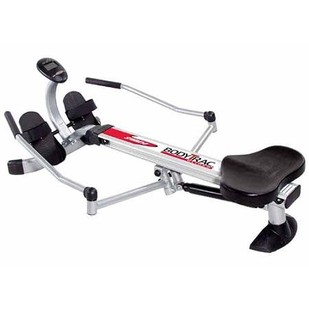 Sturdy Steel Frame Construction Stamina Body Trac Glider. With Comfortable Molded Seat and Oar-like Rowing Arms. Easy Assembly to Be Used Right Away! Also Easily Folds so Less Effort! Ideal for You!
