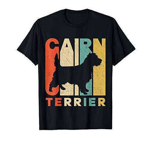Vintage Retro Cairn Terrier Silhouette ()