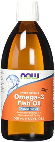 NOW Omega-3 Fish Oil Liquid,16.9-Ounce