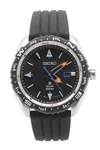 Seiko sne423メンズProspexゴムストラップSolar Watch W / DATEの商品画像