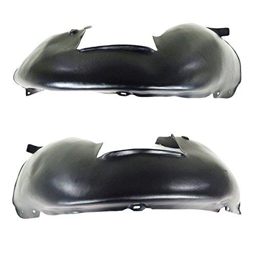(Koolzap For 05-14 VW Jetta Front Splash Shield Inner Fender Liner Panel Left Right SET PAIR)