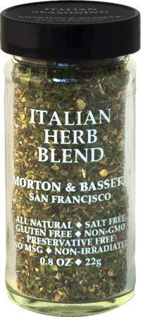 MORTON & BASSET Italian Herb Blend Seasoning, 0.8 OZ