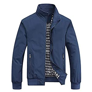 MyMei Men's Regular Jacket