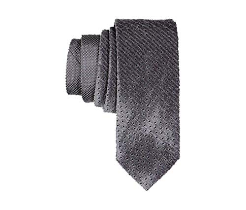 Sean John Men's Slim Necktie (Grey, One Size)