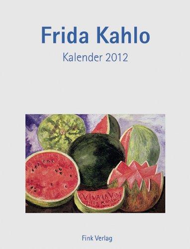 Frida Kahlo: Kunst-Einsteckkalender 2012
