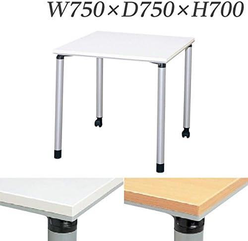 生興 テーブル ET型会議用テーブル 直線型 W750×D750×H700 ET-750KA ペールアルダー