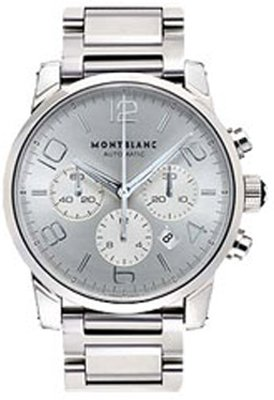 Montblanc-Silver-Dial-Steel-Mens-Watch-9669