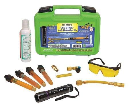 Leak Detection Kit, Single-Dose, (3) AAA by Spectroline