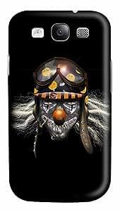 Evil Clown Soldier Custom Polycarbonate Plastics Case for Samsung Galaxy S3 / S III/ I9300