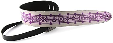 Perris Leathers P25OL-34 2.5-Inch Leather with High Resolution Funky Design (Funky Guitar Strap)