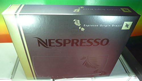 Nespresso - Espresso origin brazil pro coffee 50 capsules ,new ...