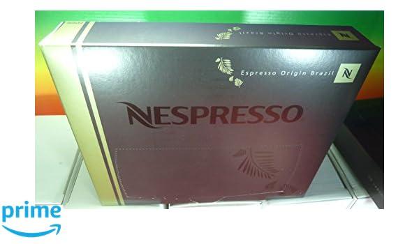 Nespresso - Espresso origin brazil pro coffee 50 capsules,new. for gemini, zenius, aguila coffee machines: Amazon.es: Alimentación y bebidas