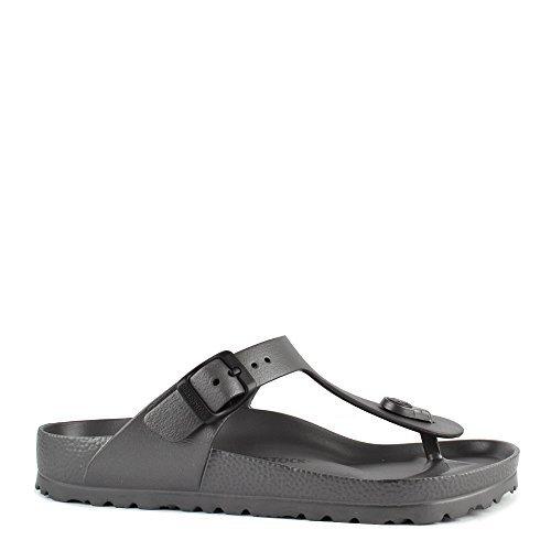 Birkenstock Womens Gizeh EVA Sandals,Anthracite, 36 M EU