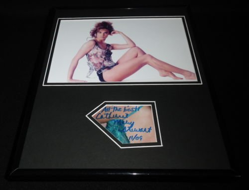 Catherine Mary Stewart Signed Framed 11x14 Photo Display Weekend at Bernie's B