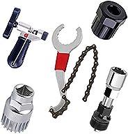 Bicycle Chain Repair Tool Kit-Chain Breaker Splitter Cutter,Bike Link Plier,Chain Wear Indicator Checker,Chain