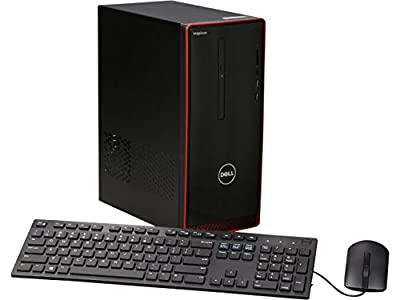 2016 Newest Dell Inspiron i3650 Flagship High Performance Desktop, Intel Quad-Core i7-6700 Processor, 16GB RAM, 2TB HDD, AMD Radeon HD R9 360, DVD+/-RW, WiFi, HDMI, Windows 7 &10 Professional