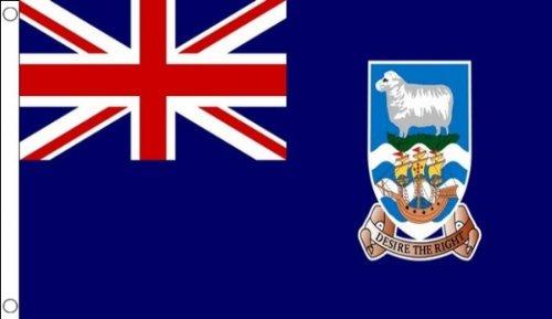 (AZ FLAG Falkland Islands Flag 3' x 5' - Malvinas Flags 90 x 150 cm - Banner 3x5 ft )