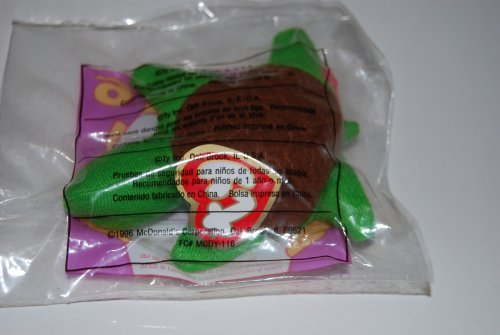 Ty Teenie Beanie - Speedy the Turtle 1996 Happy Meal Toy