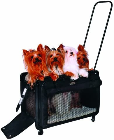 Tutto Lightweight Foldable Wheeled Pet Carriers