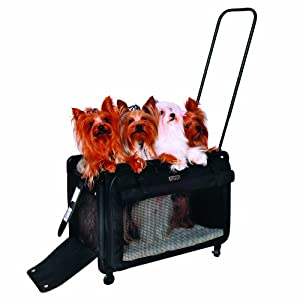Tutto Lightweight Foldable Wheeled Pet Carriers 3