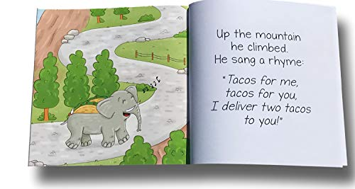 ELEPHANT TACO HOLDER - THE ULTIMATE MULTIPURPOSE FOOD HOLDER - KIDS BOOK FEATURING ELROY THE ELEPHANT TACO HOLDER by Glue Theory (Image #2)