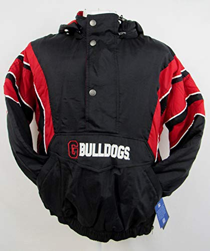 STARTER Georgia Bulldogs Mens Size X-Large 1/4 Zip Winter Jacket AUGR 55 XL (Georgia Starter Jacket)