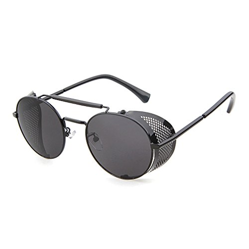 LOMOL Steampunk Personality Protection Sunglasses