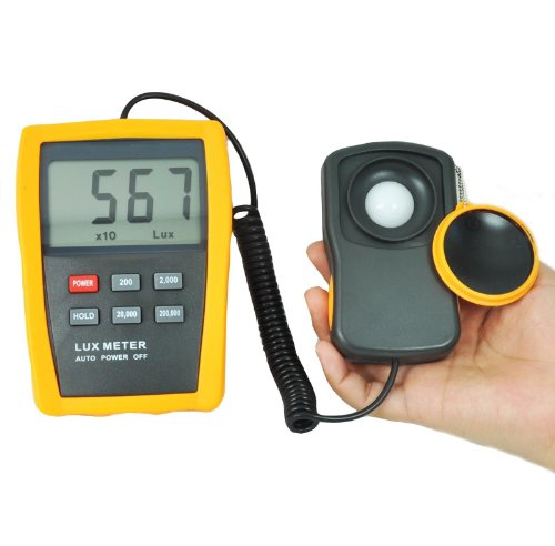 Professional Digital Light Meter for Hydroponics Greenhouse LX803 by www.meter-depot.com
