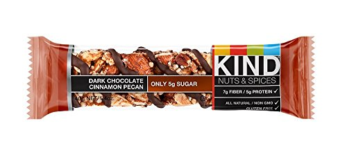 KIND Nuts & Spices bjiht Bars - Dark Chocolate Cinnamon Pecan - 6 Count by KIND