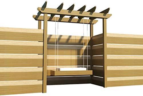 The Best DIY Plans Store Pérgola Columpio Planes Bricolaje carpintería al Aire Libre Columpio Arbor jardín Porche Columpios: Amazon.es: Jardín