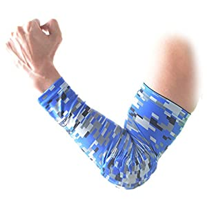 COOLOMG 2PCS CHILD KIDS Combat Basketball Pad Protector Gear Shooting Hand Arm Elbow Sleeve Adult Child