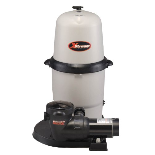 Hayward CC15093S XStream 1.5 HP Above-Ground Pool Filter Pump System (Cartridge Pool System Filter)