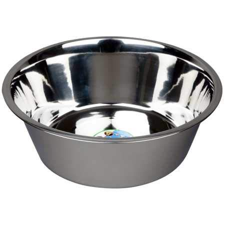 Advance Pet Products Stainless Steel Feeding Bowls, 10-Quart by Advance Pet Products