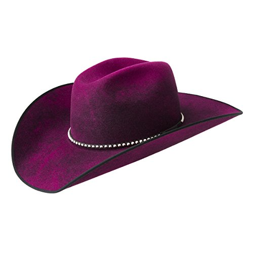 Bailey Western Men Renegade By Bailey June Western Hat Fushia Swirl 7