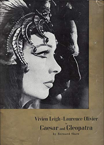 "Vivien Leigh""CAESAR and CLEOPATRA"" Laurence Olivier/Bernard Shaw 1951 Souvenir Program"