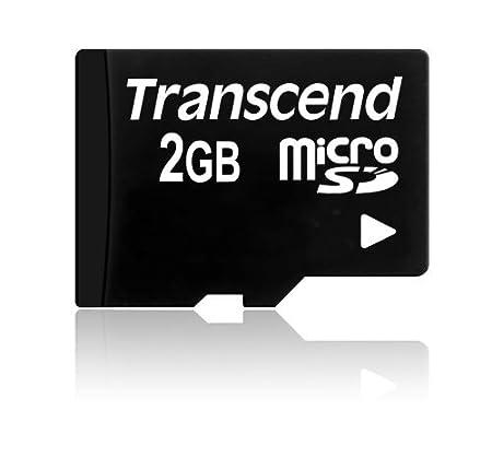 Transcend TS2GUSD - Tarjeta de Memoria microSD de 2 GB