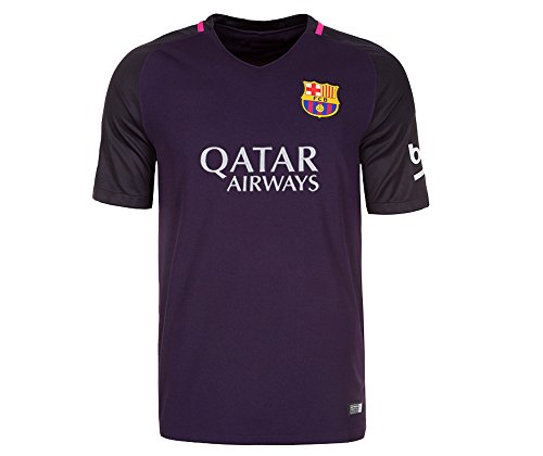 2016 Barcelona Away Adult Soccer Jersey 2016/2017 Football Shirt Jersey (Away, Large) (Regina Barcelona)
