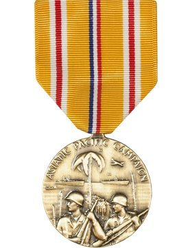 Vanguard FULL SIZE MEDAL ASIATIC PACIFIC CAMPAIGN ()