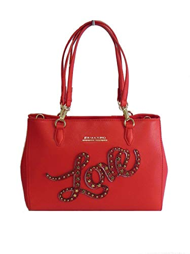Ermanno Scervino Borsa new anya letter shopper 12400547 rosso