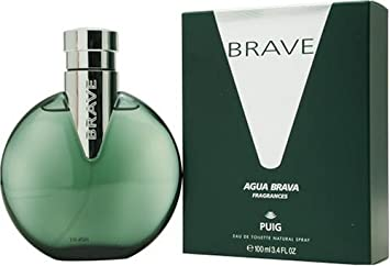 Brave Agua Brava By Antonio Puig for Me. Eau De Toilette Spray, 3.4-