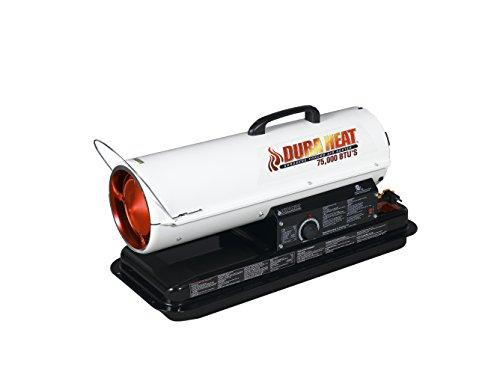 Calentador de aire forzado portátil Dura Heat, 75,000 BTU - DFA75T