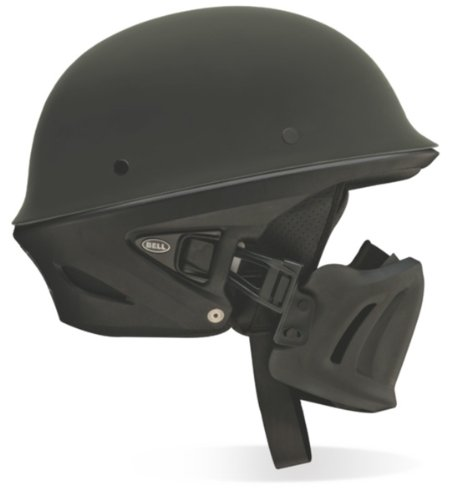 Bell Rogue Solid Open Face Motorcycle Helmet - Army Green, X-Small