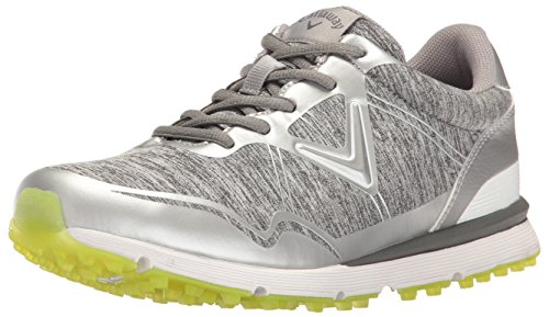 Callaway Women's Solaire Golf Shoe, Heathered, 10.5 B US