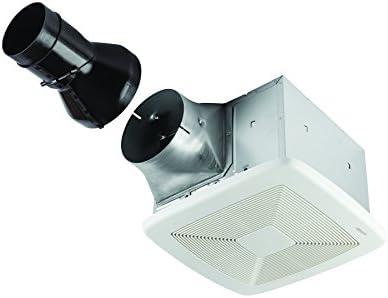 Broan-Nutone RB80 ULTRA PRO Series Single-Speed Exhaust Fan, Ventilation Fan with Room-Side Installation, ENERGY STAR Certified, 0.3 Sones, 80 CFM