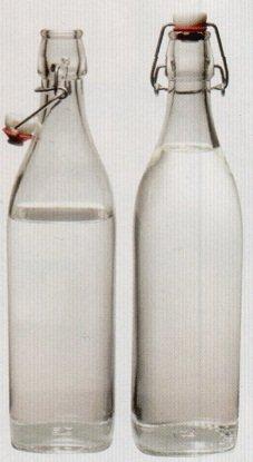 1L Bormioli Rocco (32 Oz) Wholesale Priced 20 Piece Master Carton Square Glass Bottle by Bormioli Rocco (Image #1)