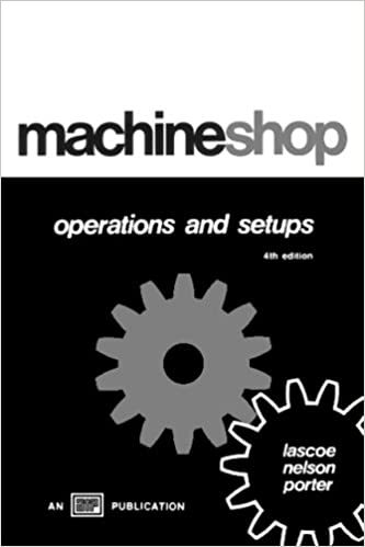 Machine Shop Operations and Setups