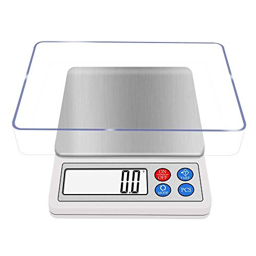 Digital Gram Scale NEXT-SHINE 8006 600g/ 0.01g Portable Use Multi-functionals Pro Scale with LCD Display, Tare, PCS, Back-lit for Home, Kitchen, School, Laboratory