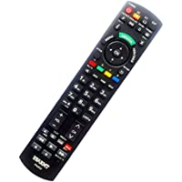 NEW Panasonic Universal TV&DVD Blu-ray Player Remote Fit for 99% Panasonic Plasma LCD LED 3D TV & DVD Blu-ray Player, replace N2QAYB000100 N2QAYB000221 N2QAYB00048. No need to set up, easy to USE!