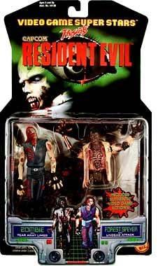 Neca 10th Anniversary Resident Evil Zombie Capcom Comic Action Figures Game Toy