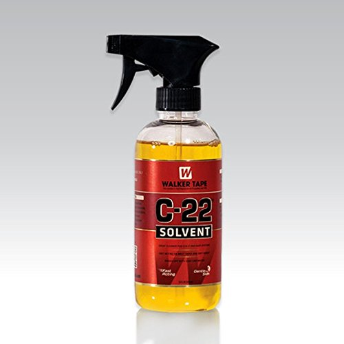 C 22 Adhesive Solvent. Oil base 12 oz. spray glue wig cleaner